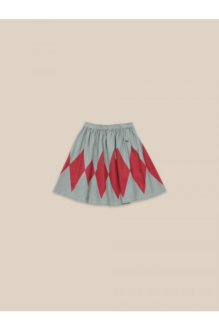 Bobo Choses Diamond Woven Skirt Desert Sagei_1