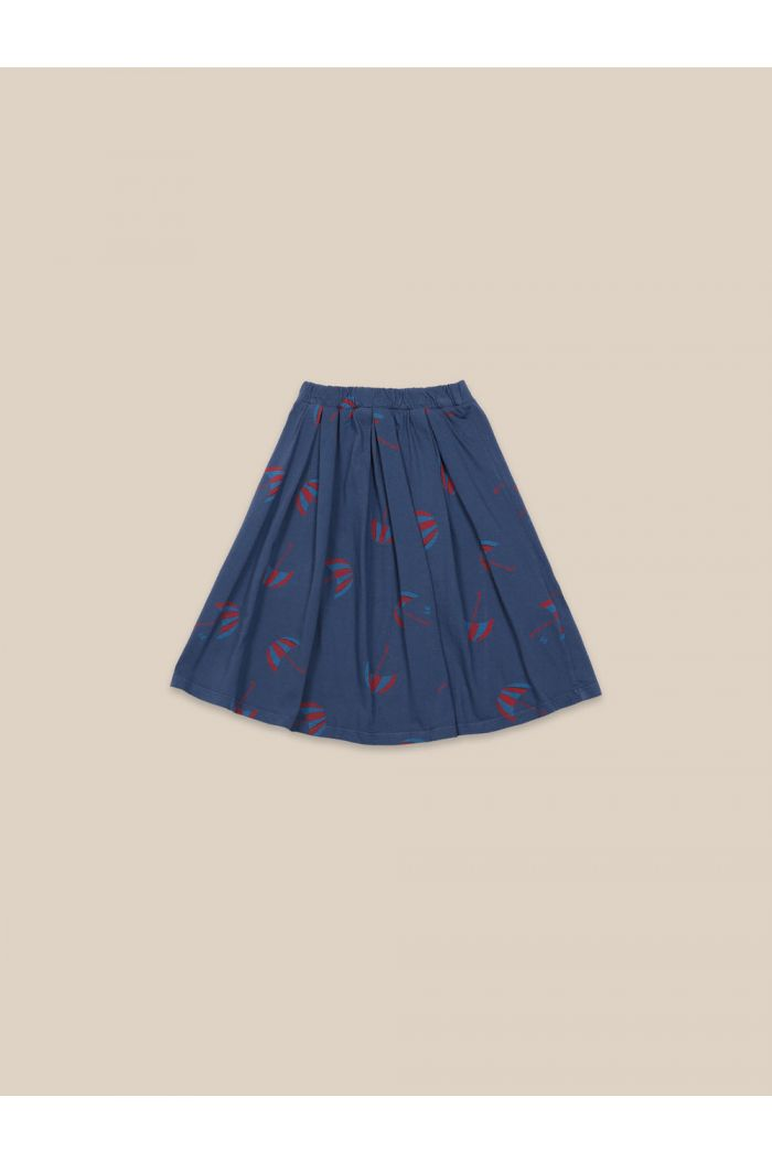 Bobo Choses Umbrellas All Over Skirt Blue Indigo_1