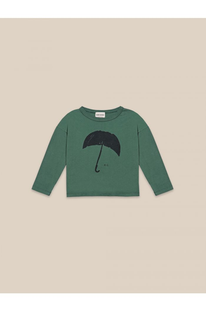 Bobo Choses Umbrella Long Sleeve T-shirt Greener Pastures_1