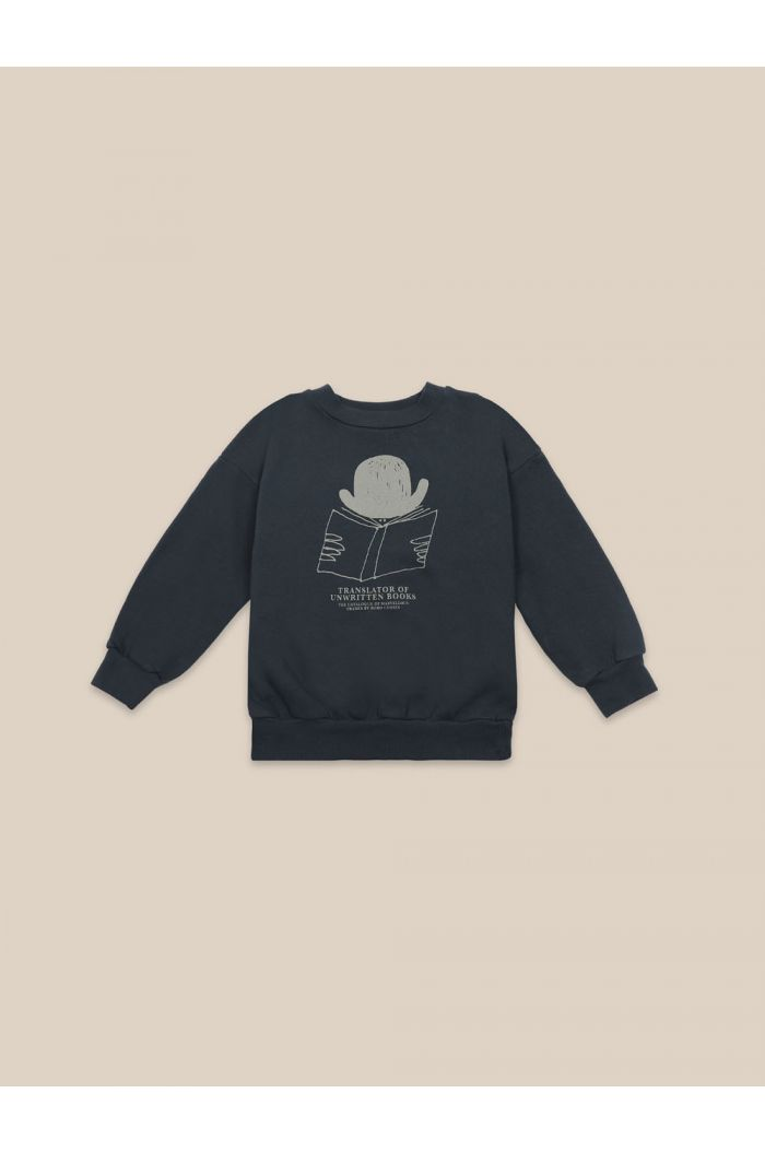Bobo Choses Translator Sweatshirt Midnight Navy_1
