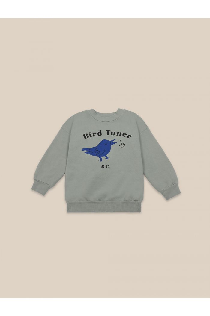 Bobo Choses Bird Tuner Sweatshirt Desert Sagei_1