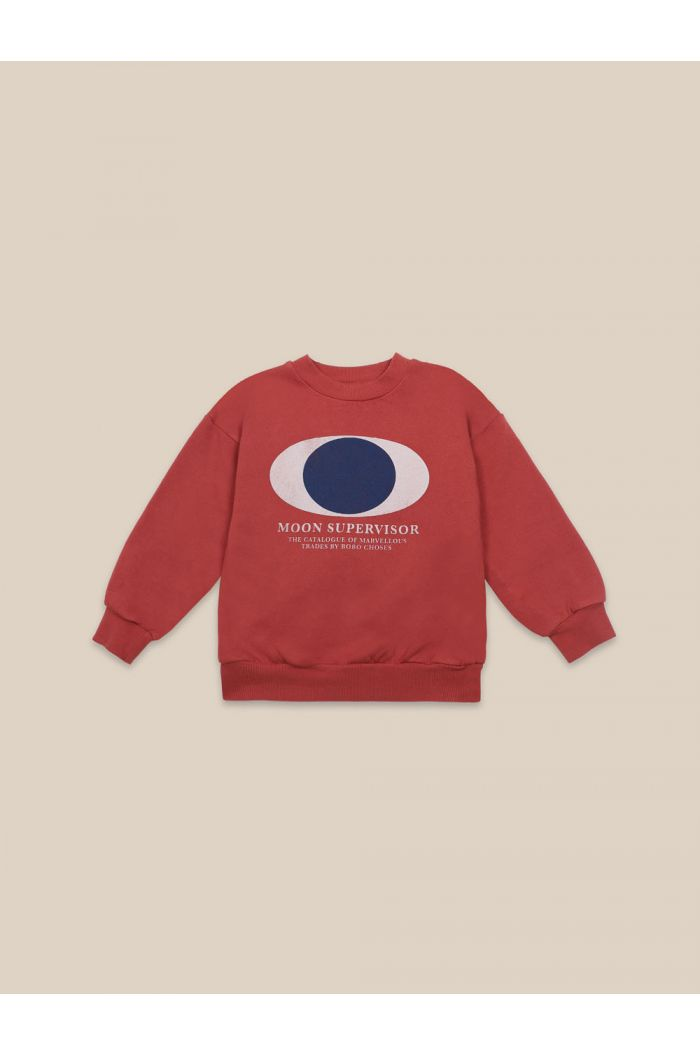 Bobo Choses Supervisor Sweatshirt Ketchup_1