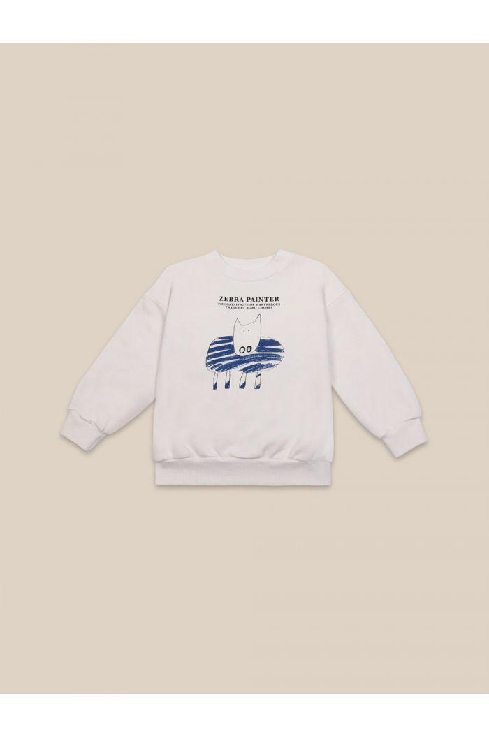 Bobo Choses Zebra Painter Sweatshirt Pristine_1