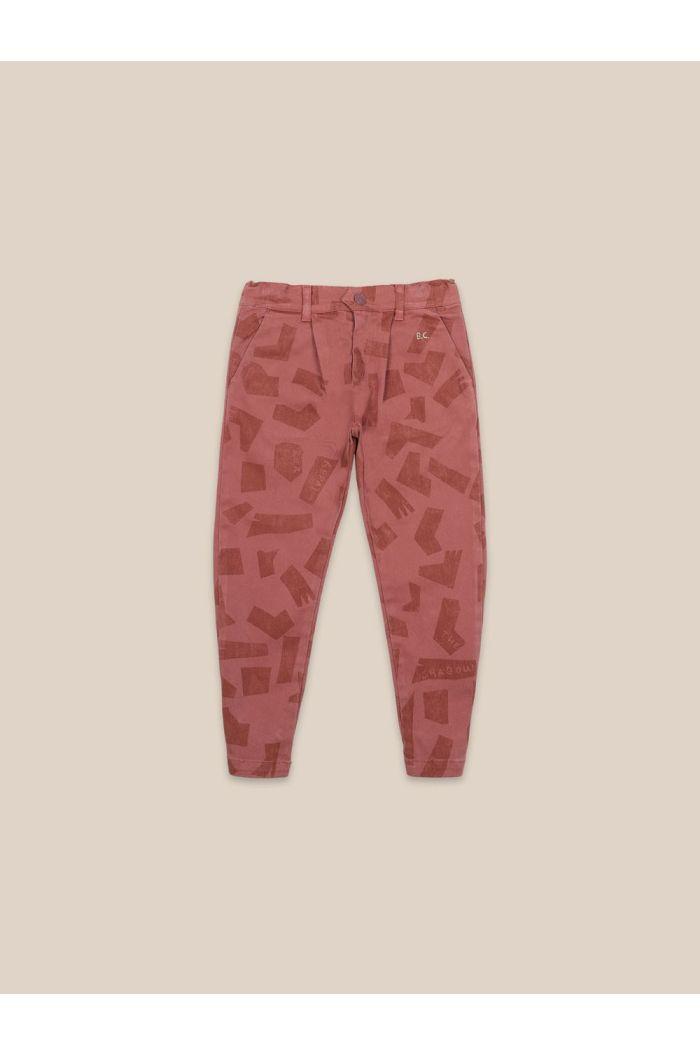 Bobo Choses Shades All Over Chino Pants Mahogany_1