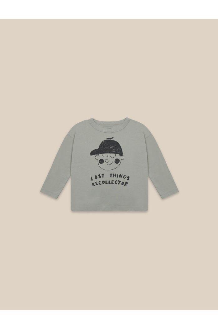 Bobo Choses Boy Long Sleeve T-shirt Desert Sagei_1