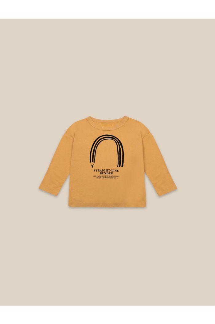 Bobo Choses Straight Line Bender Longsleeve Sunflower_1