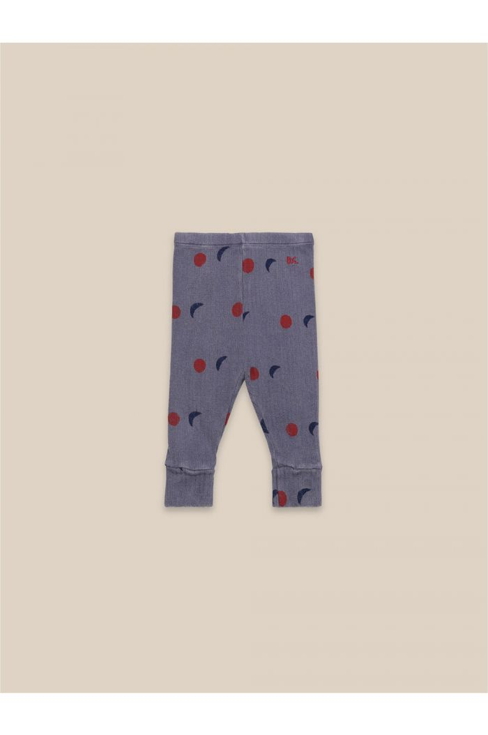 Bobo Choses Baby Night All Over Leggings Grape Compote_1