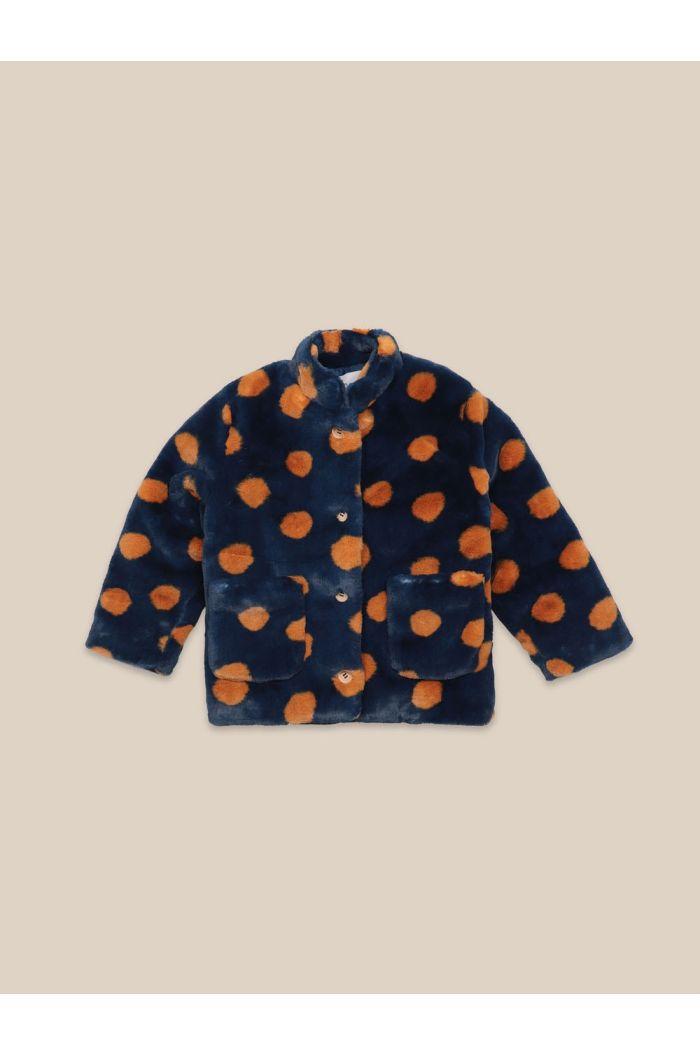 Bobo Choses Spray Dots Jacket Midnight Navy_1