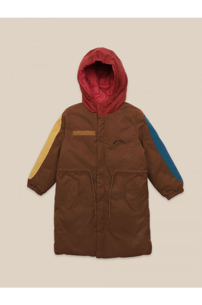 Bobo Choses Reversible Bobo Choses All Over Parka Red_1