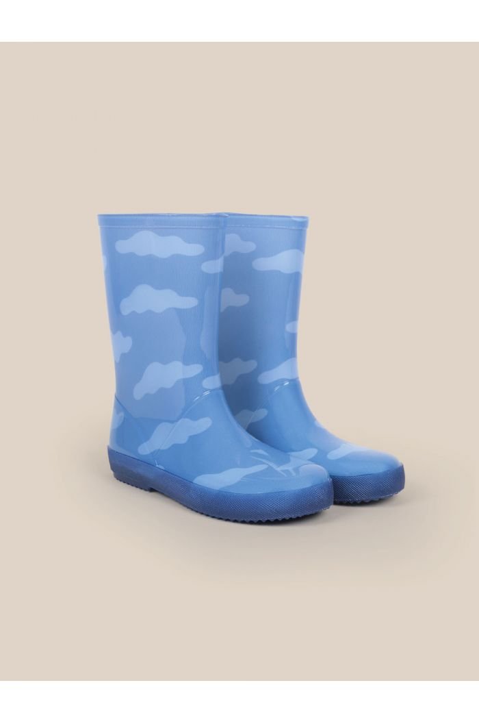 Bobo Choses Clouds All Over Boots Forever Blue_1