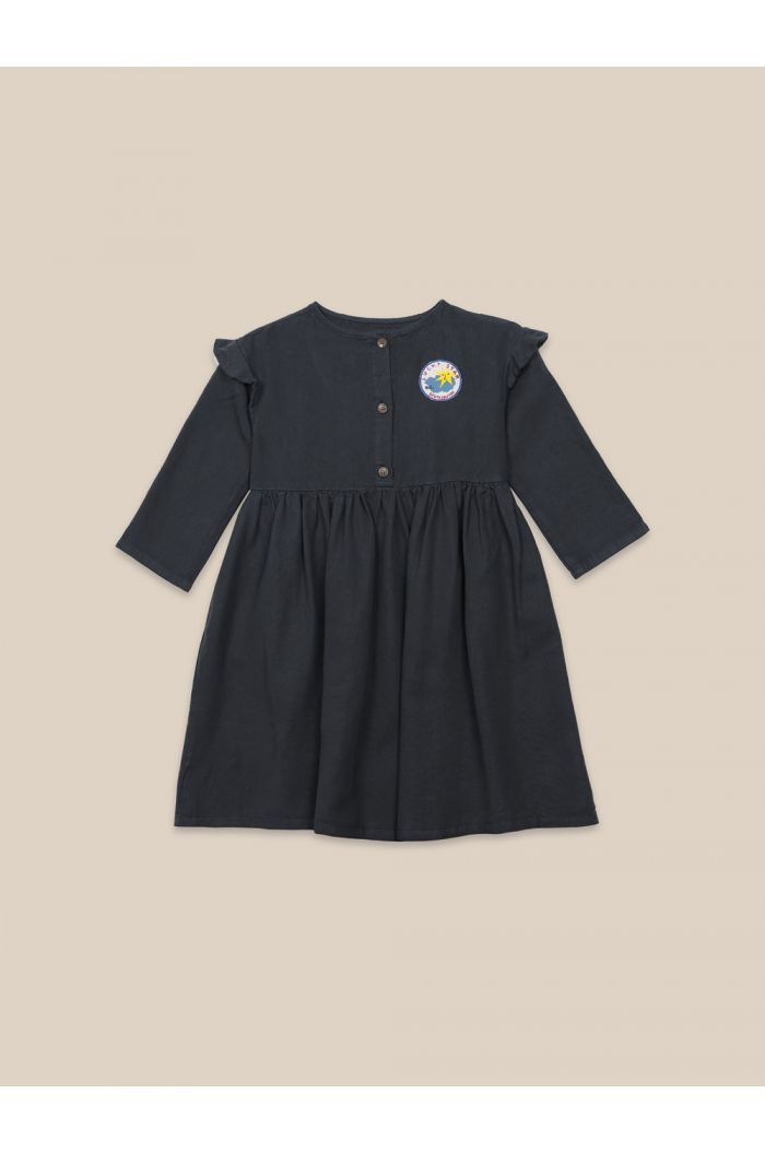 Bobo Choses Lucky Star Woven Dress Midnight Navy_1