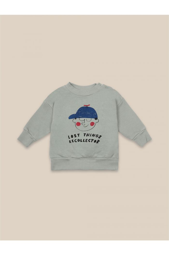 Bobo Choses Boy Sweatshirt Desert Sagei_1