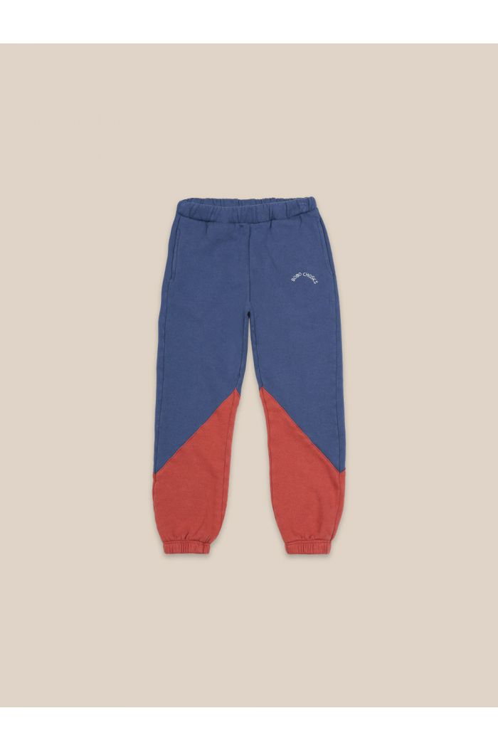 Bobo Choses Color Block Jogging Pants Atlantic Deep_1
