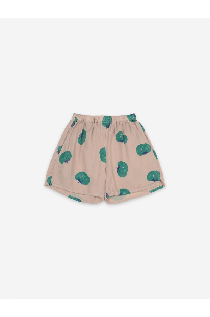 Bobo Choses Tomatoes All Over Woven Shorts Brush_1