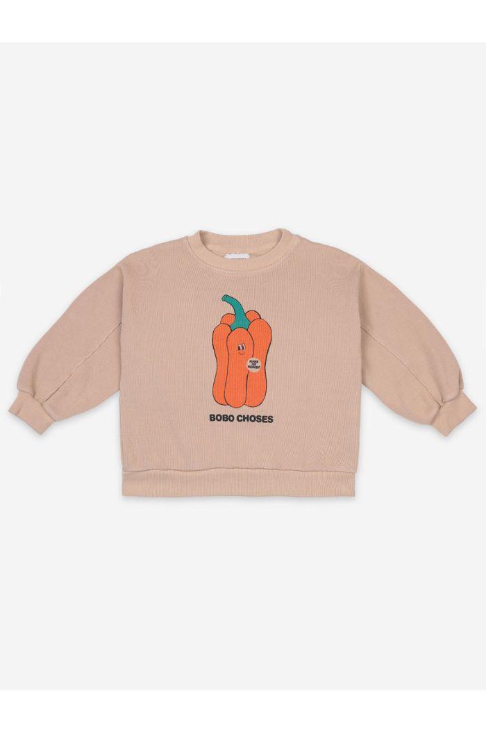 Bobo Choses Vote For Pepper Sweatshirt Brush_1