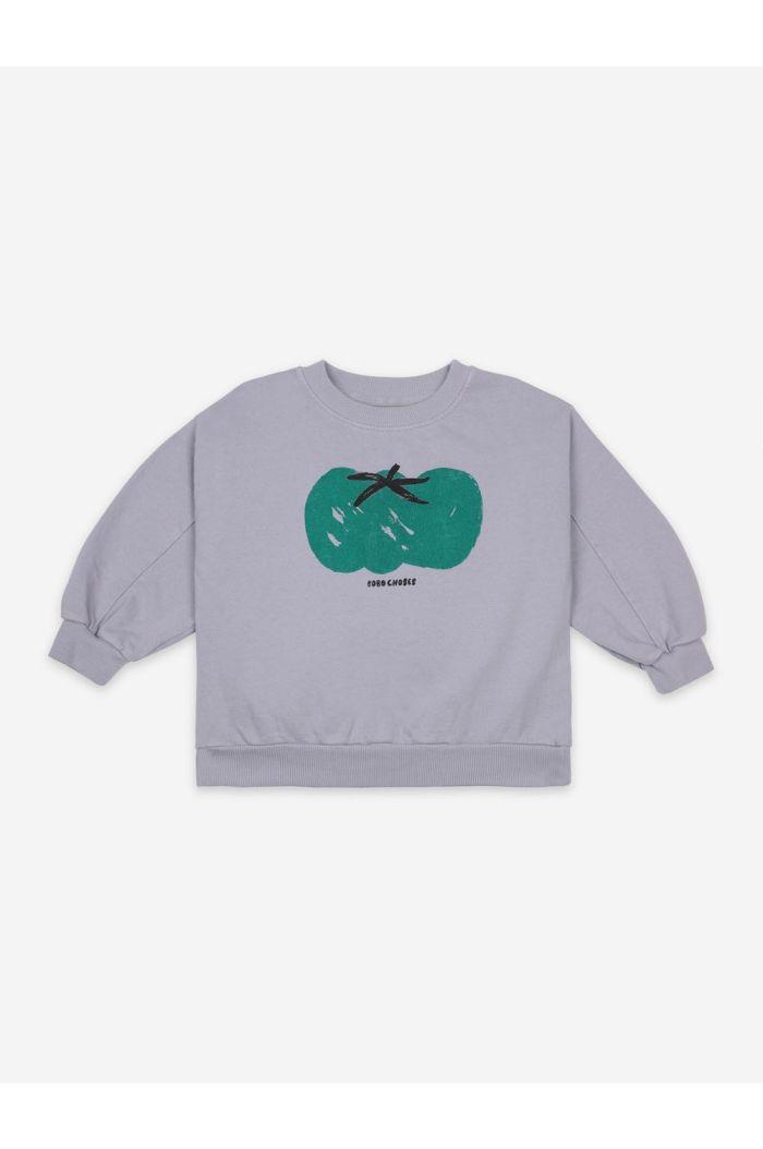 Bobo Choses Tomato Sweatshirt Lavender Aura_1