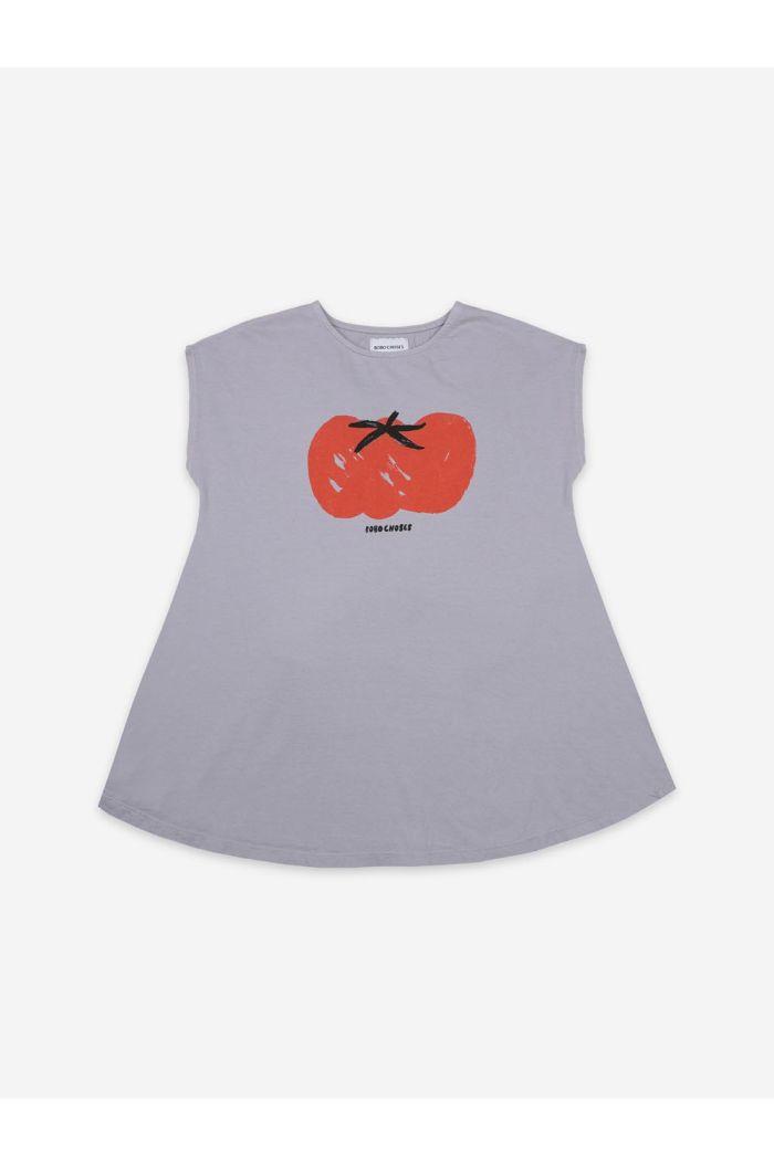 Bobo Choses Tomato Jersey Dress Lavender Aura_1