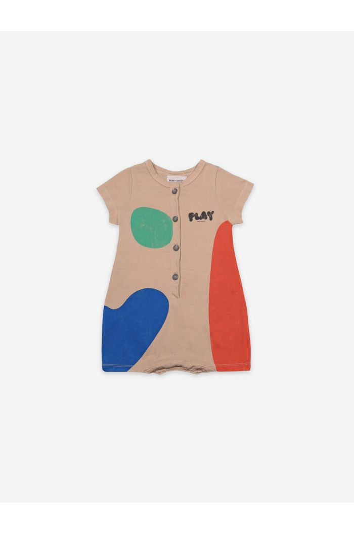 Bobo Choses Play Landscape Playsuit Brush_1