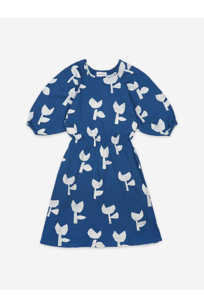 Bobo Choses Poppy All Over Jersey Dress Galaxy Blue_1