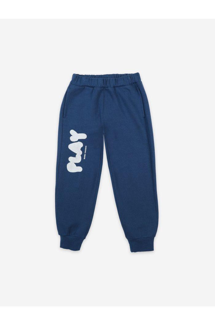 Bobo Choses Play Jogging Pants Galaxy Blue_1