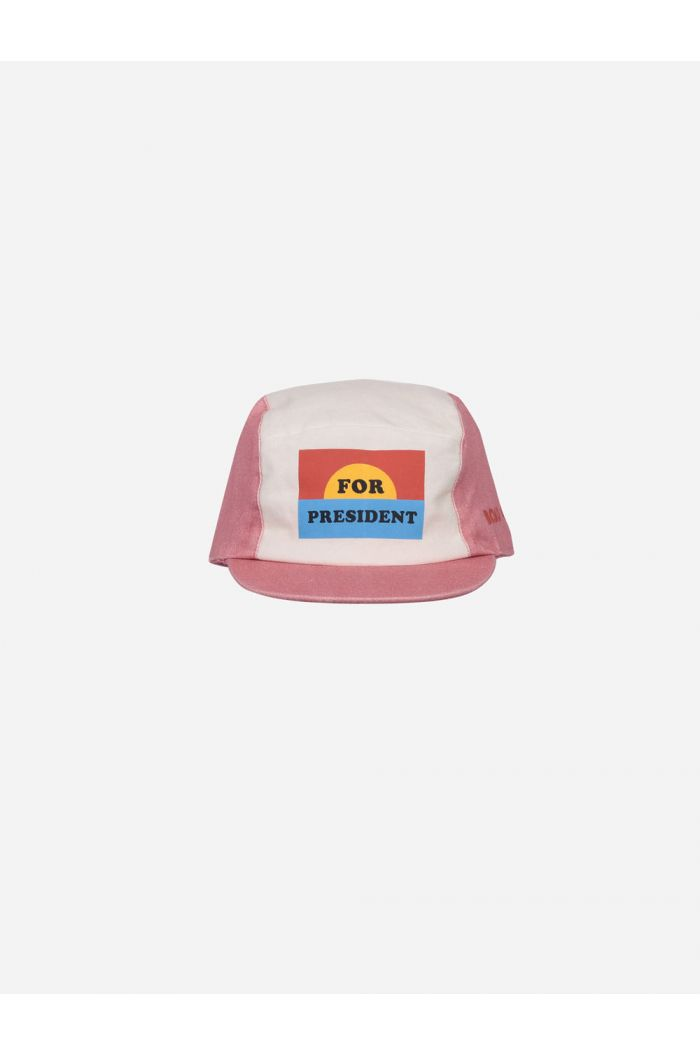 Bobo Choses For President Cap Dusty Pink_1