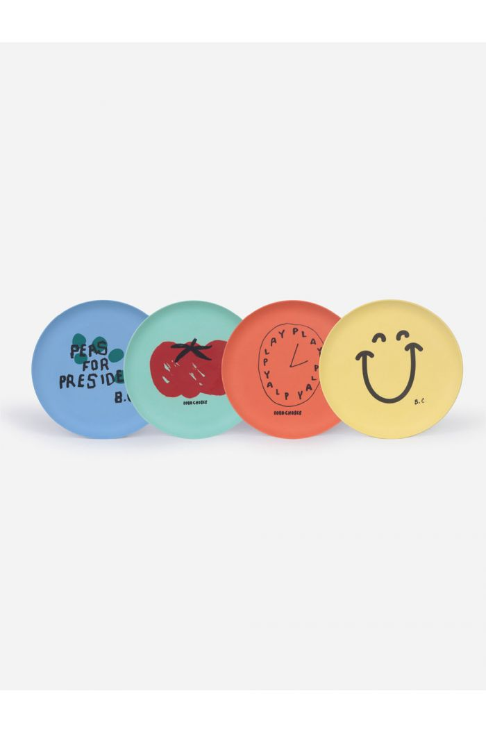 Bobo Choses For President Pack Of Bamboo Plates _1