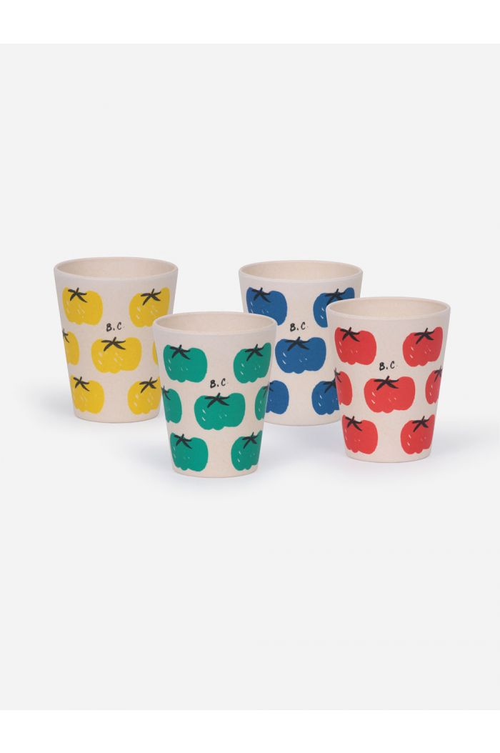 Bobo Choses Tomatoes Pack Of Bamboo Glasses _1