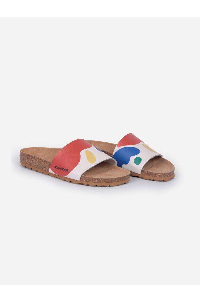 Bobo Choses Landscape Sandals Turtledove_1