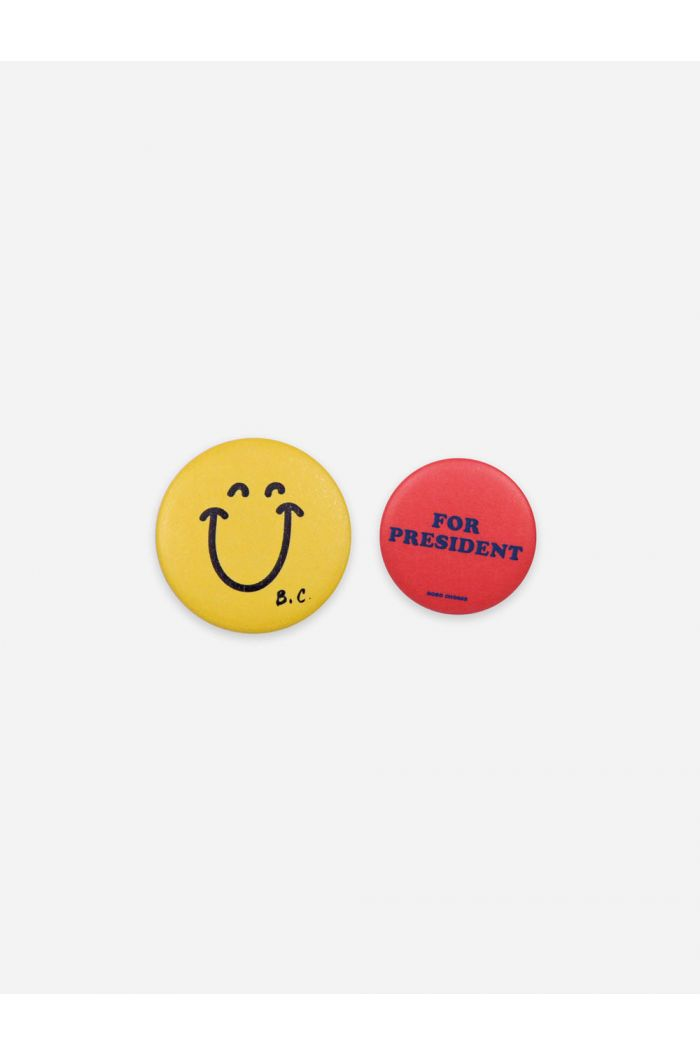 Bobo Choses Smile&President Badge _1