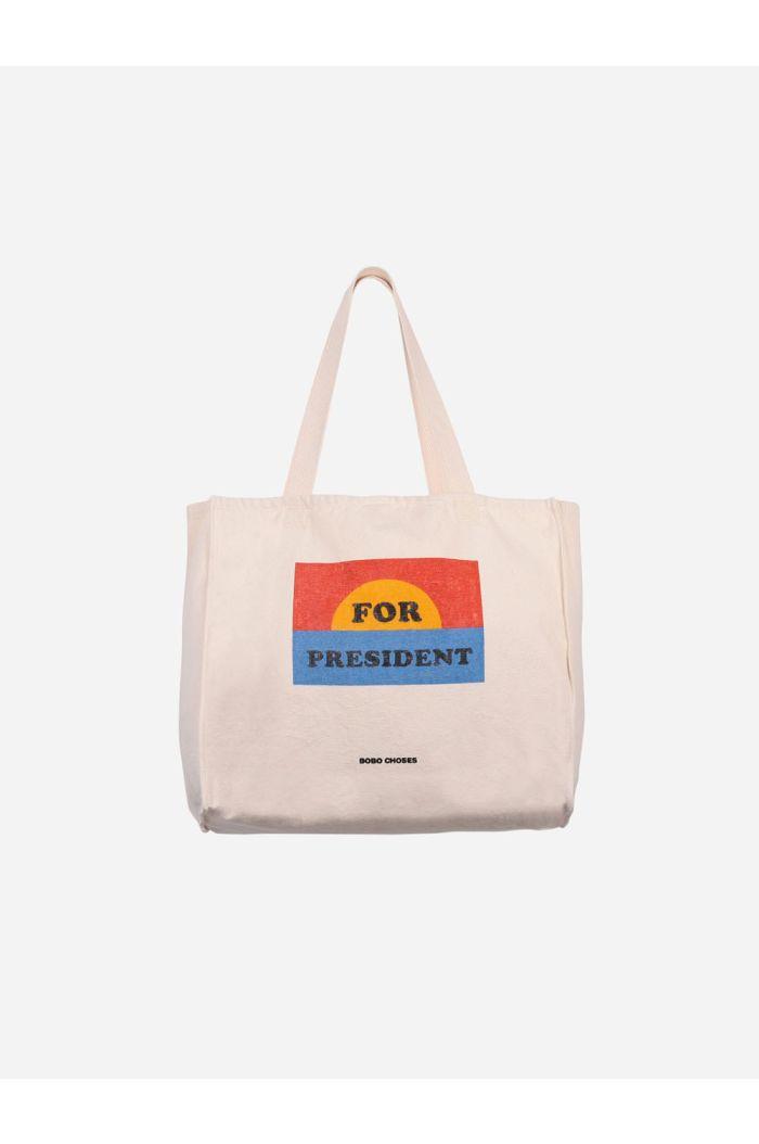 Bobo Choses For president Tote bag Turtledove_1