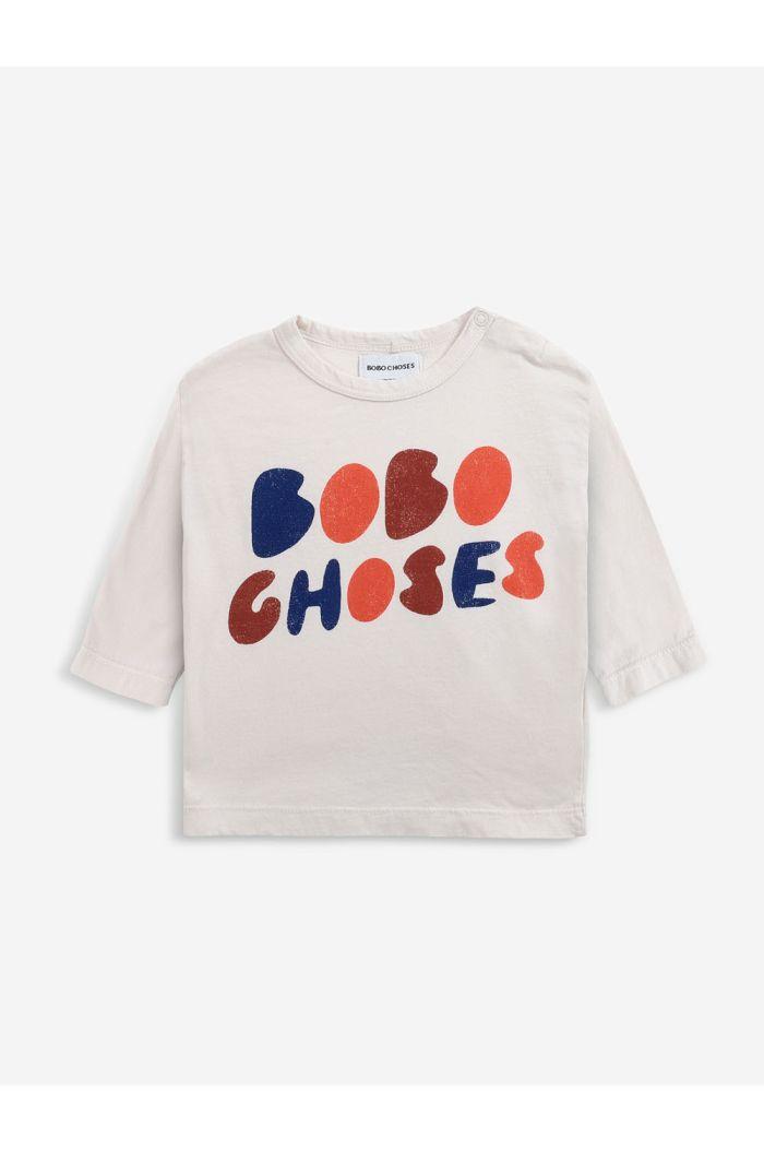 Bobo Choses Bobo Choses long sleeve T-shirt Jet Stream_1