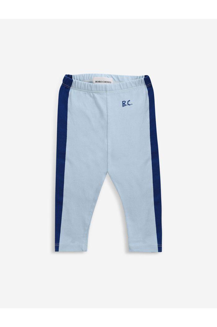 Bobo Choses Blue Stripes leggings Baby Ballad Blue_1