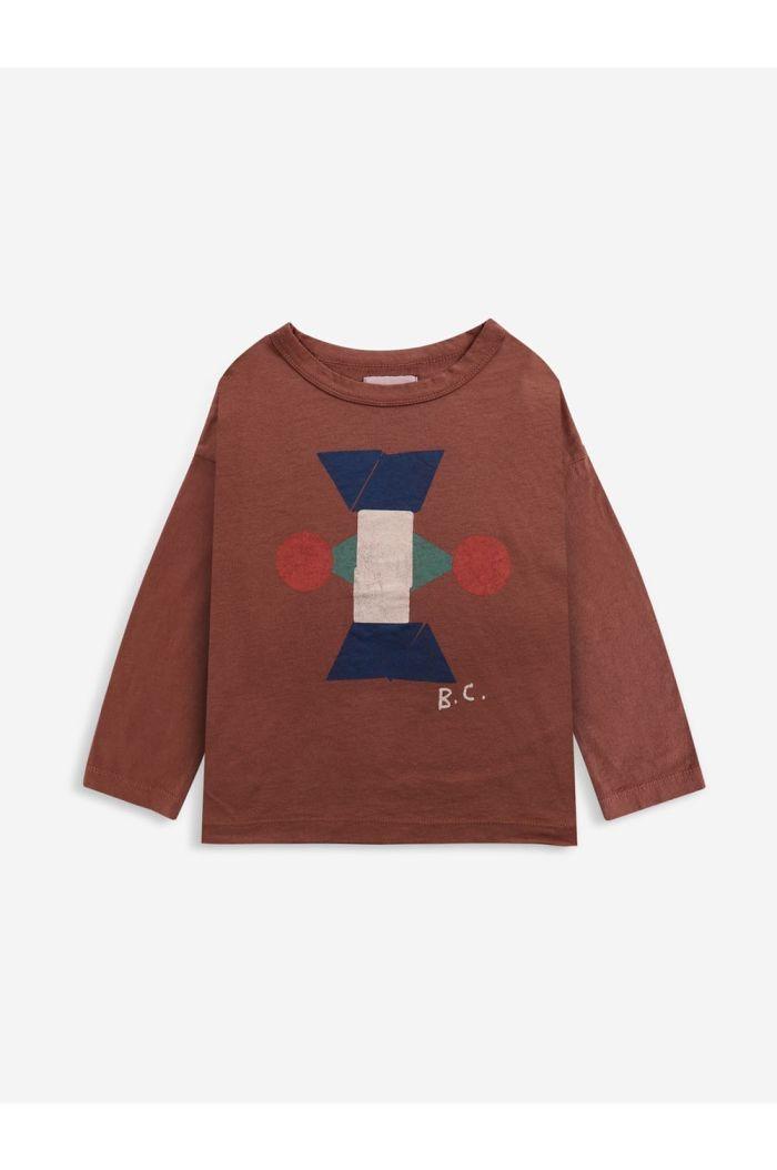 Bobo Choses Figure long sleeve T-shirt Tandoori Spice_1