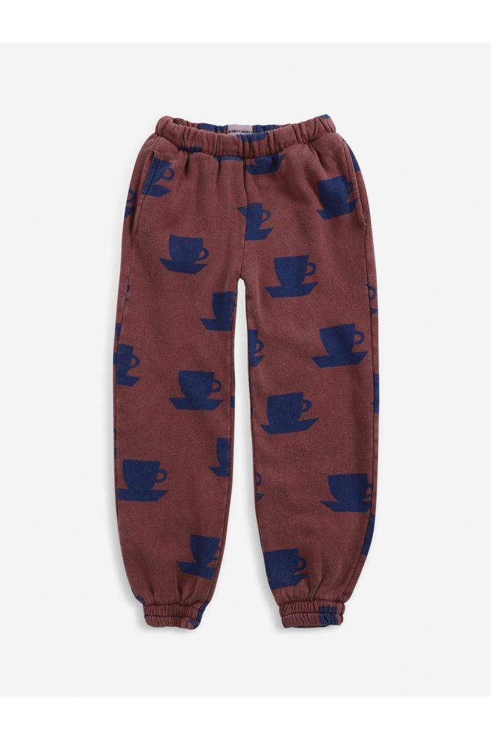 Bobo Choses Cup Of Tea All Over jogging pants Tandoori Spice_1
