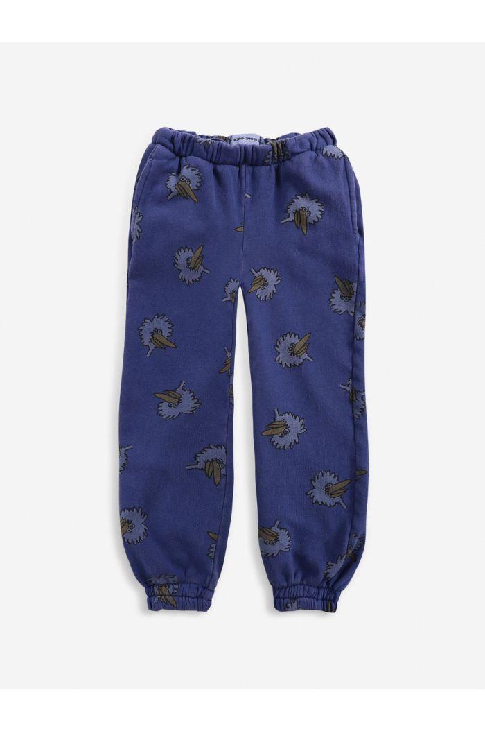 Bobo Choses Birdie All Over jogging pants  Royal Blue_1