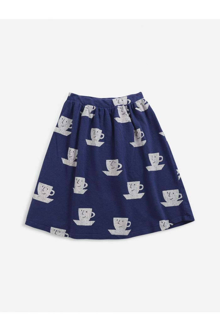 Bobo Choses Cup Of Tea All Over midi skirt Royal Blue_1
