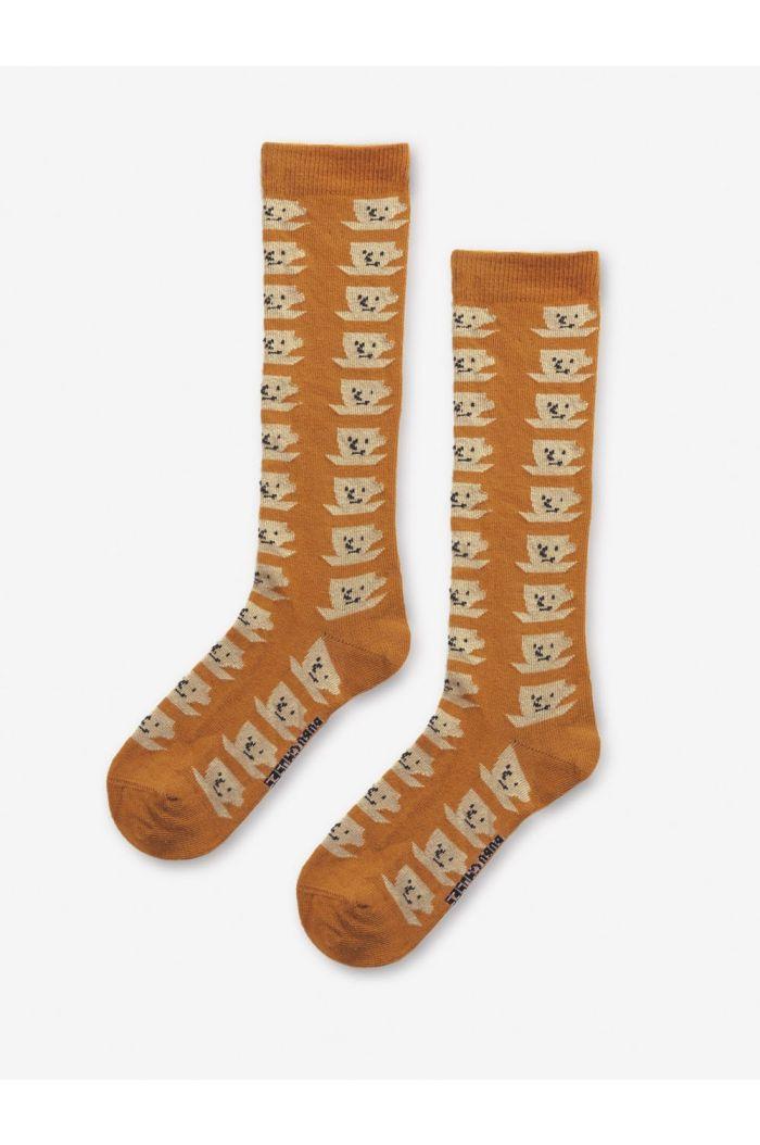 Bobo Choses Cup Of Tea All Over long socks Inca Gold_1