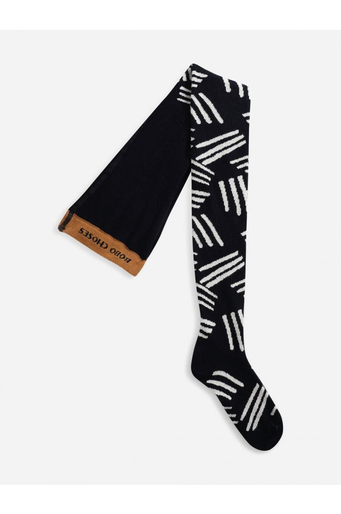 Bobo Choses Scratch All Over tights Twilight Blue_1