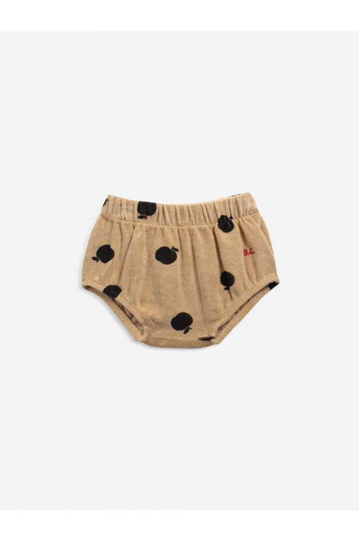 Bobo Choses Poma allover bloomer Honey Yellow_1