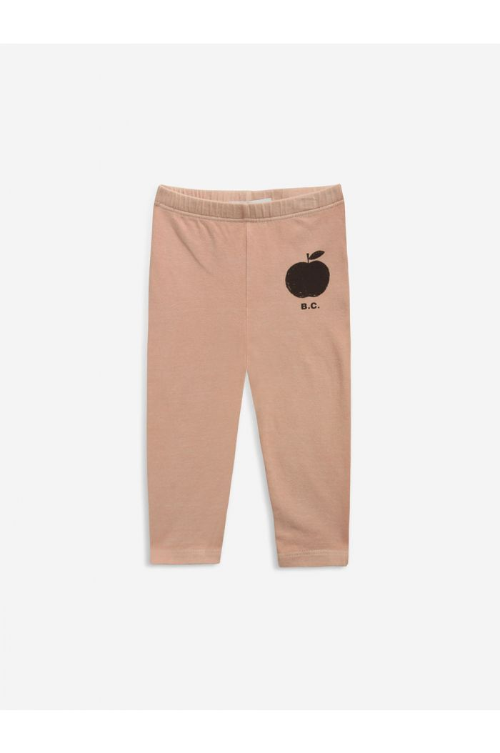 Bobo Choses Poma coral leggings Caramel_1