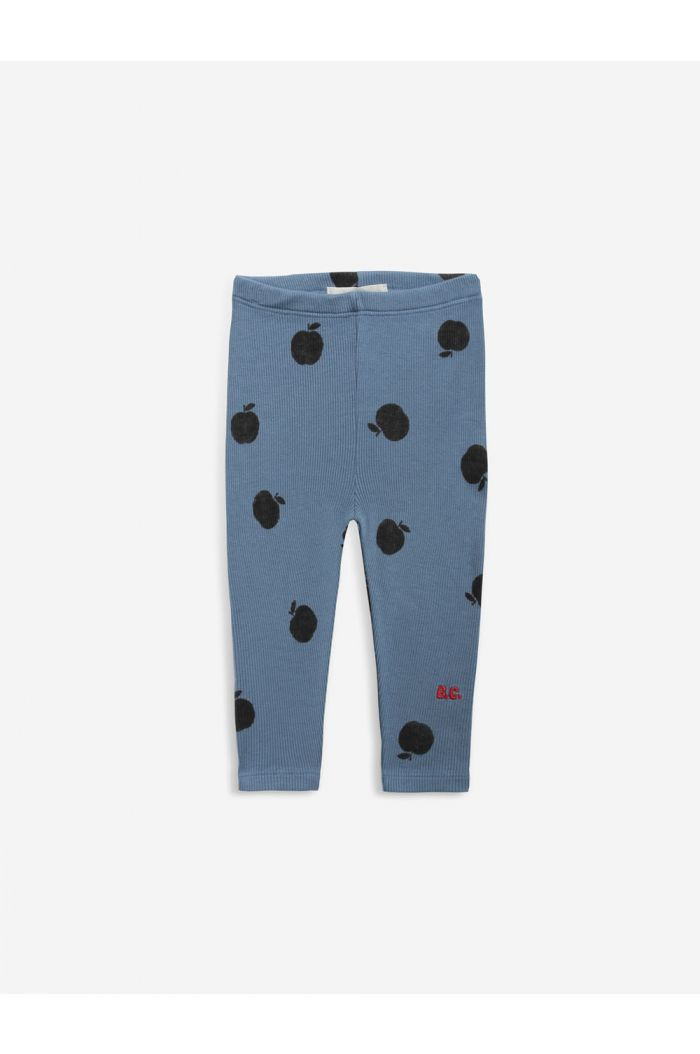 Bobo Choses Poma allover blue leggings baby Infinity_1