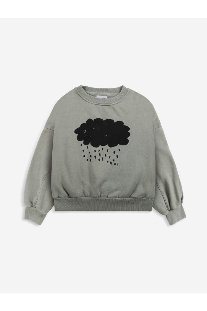 Bobo Choses Cloud sweatshirt Dried Herb_1