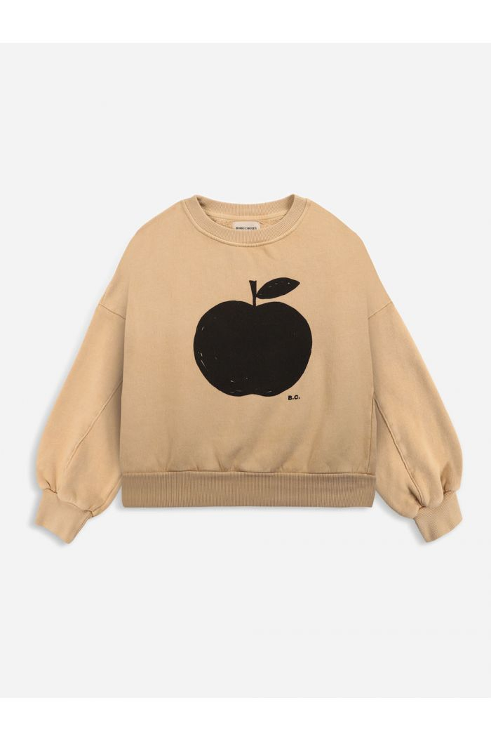 Bobo Choses Poma sweatshirt Honey Yellow_1