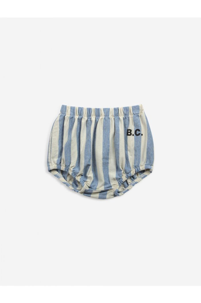 Bobo Choses B.C stripes bloomer Bone White_1