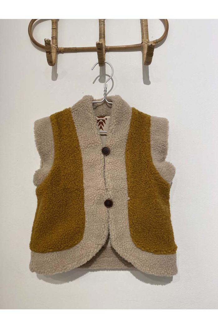Wander &Wonder Reversible Vest Mustard_1