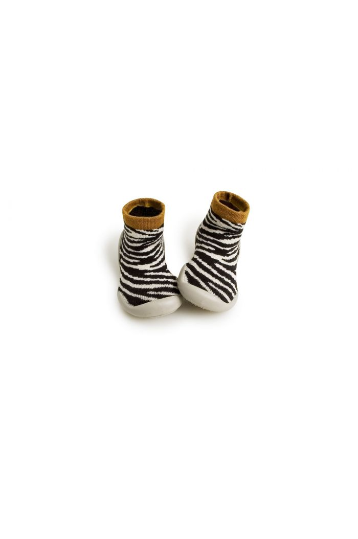 Collegien Slippers Zebra Zebra