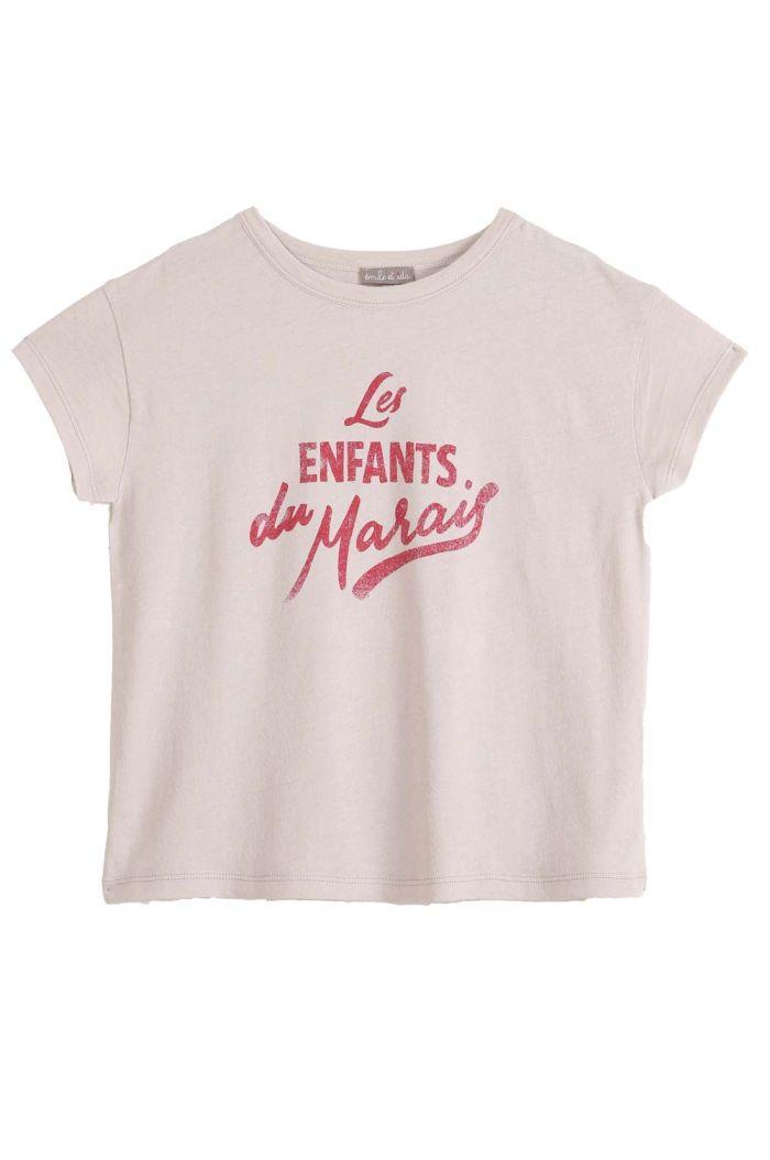 Emile et Ida Tee Shirt Mastic Les Enfants