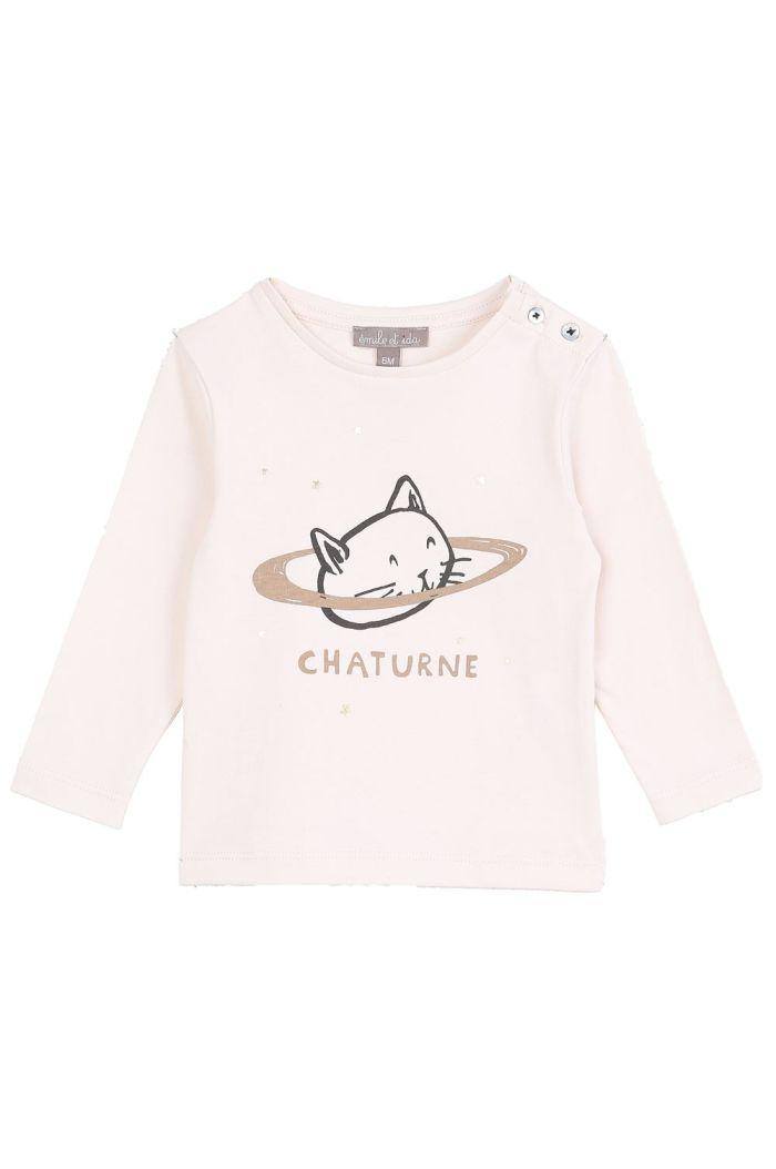 Emile et Ida Tee Shirt Ecru Chaturne_1