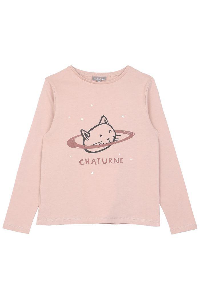 Emile et Ida Tee Shirt Rosa Chaturne_1