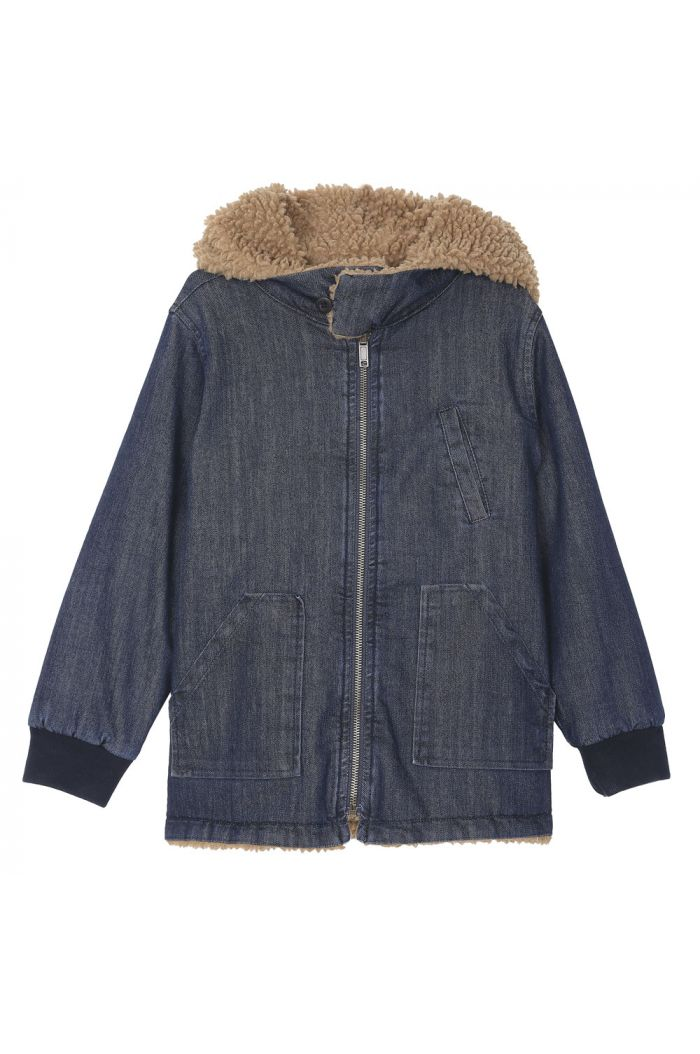 Emile et Ida Jacket reversible Denim_1
